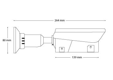 VBIP-2V-M Dimensions